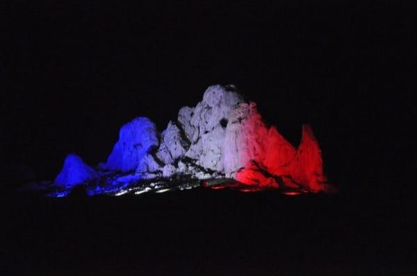 Pierre Brice Gedenken mit Lighting Design