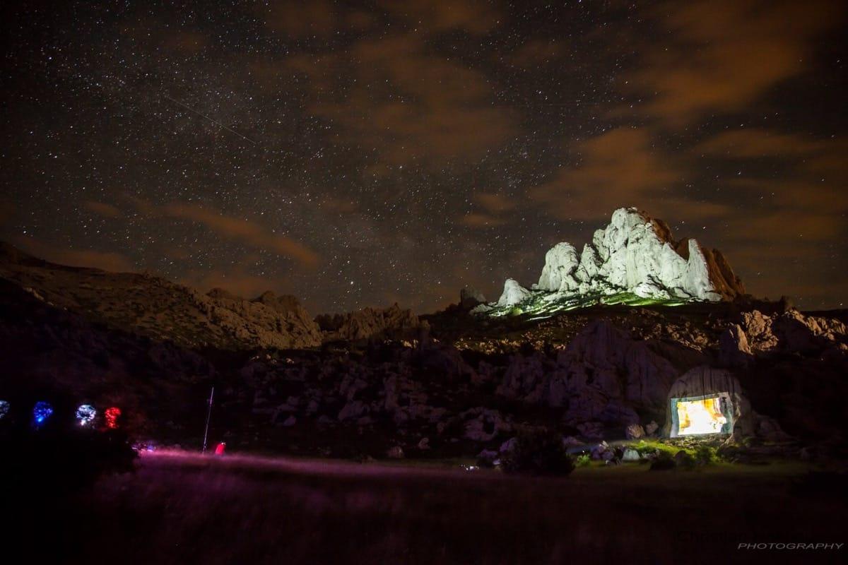 Veranstaltungstechnik in Kroatien bei Beleuchtung des Tulove Grede